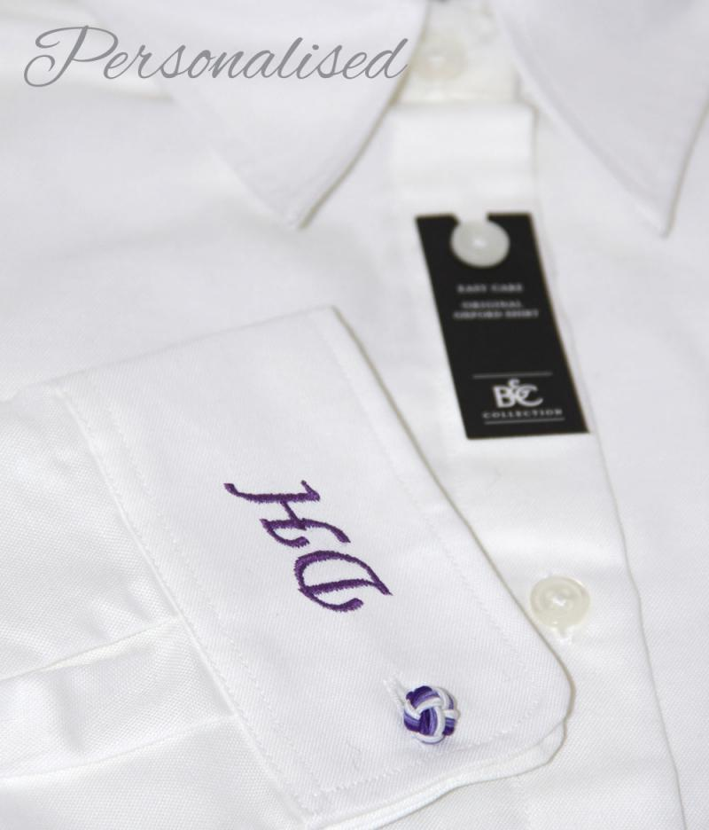 Personalised Monogrammed White Blouse