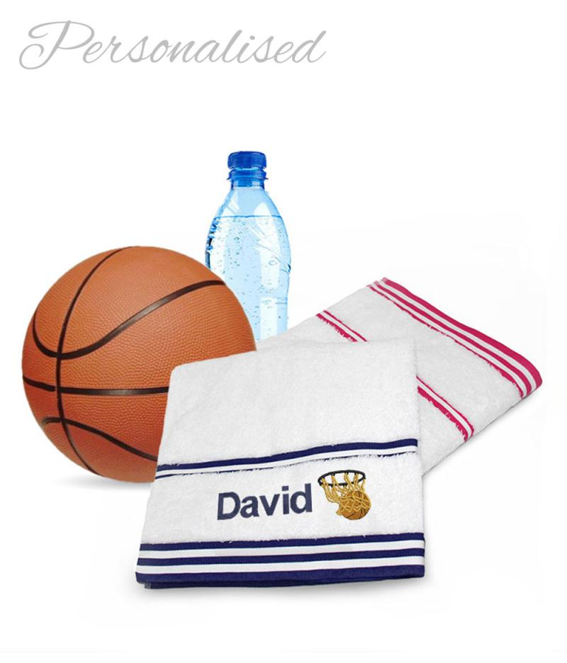 Personalised Basketball Towels