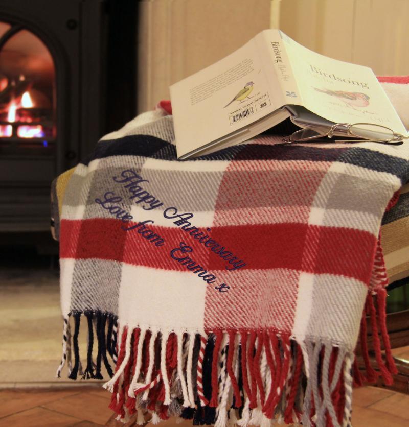 personalised blanket uk