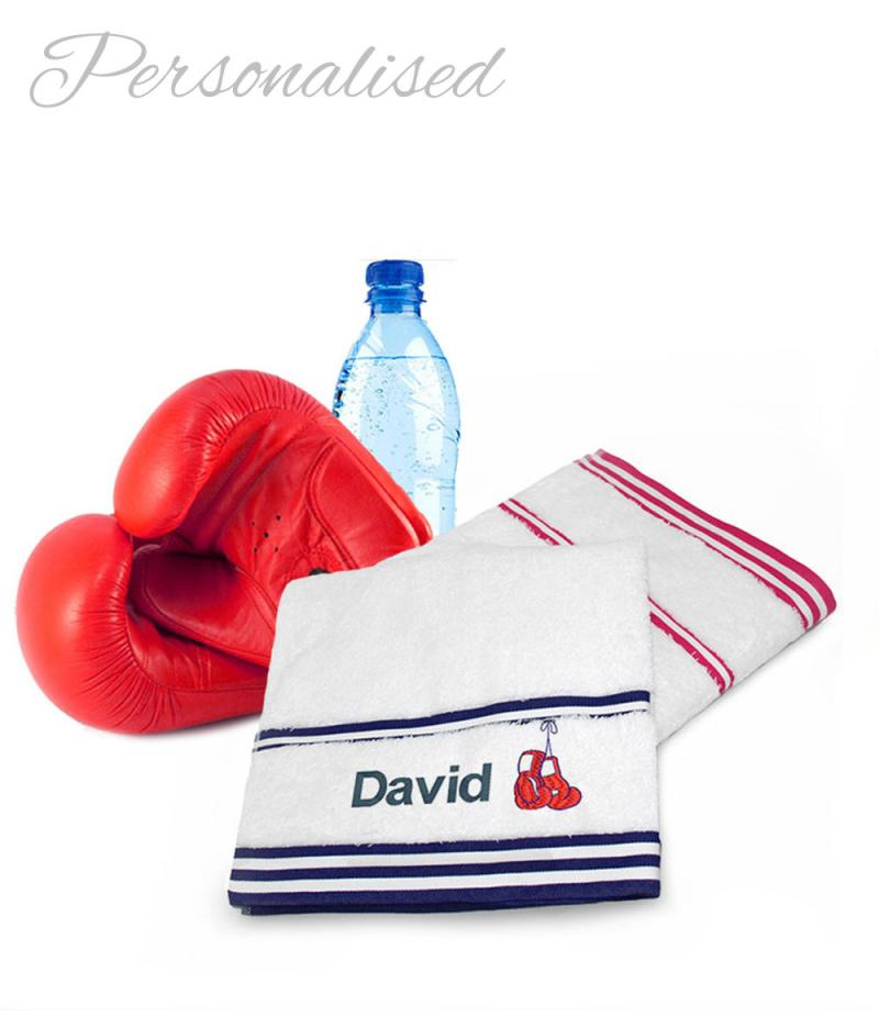 Personalised Boxing Towel