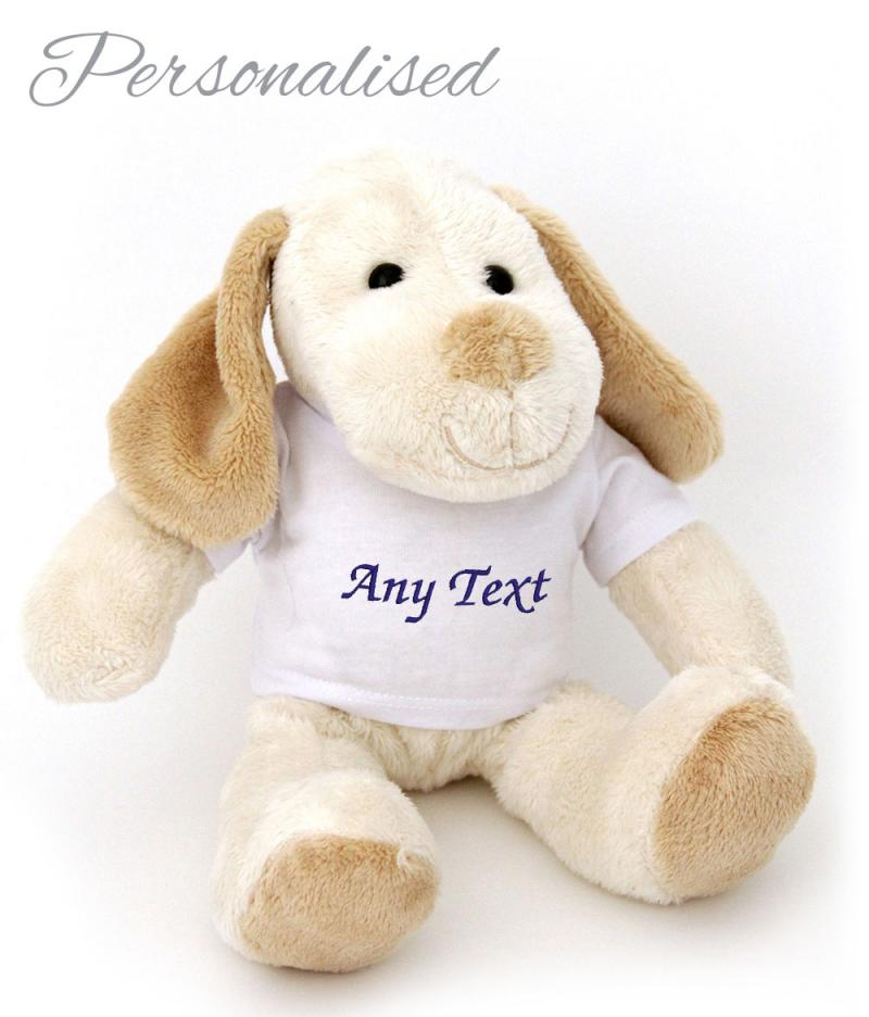 personalised dog toy with t-shirt