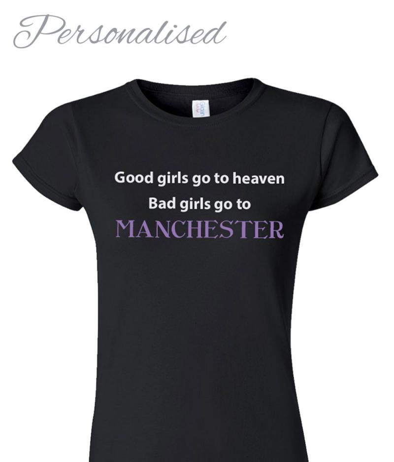 Personalised Hen Night T-shirt - Bad Girls