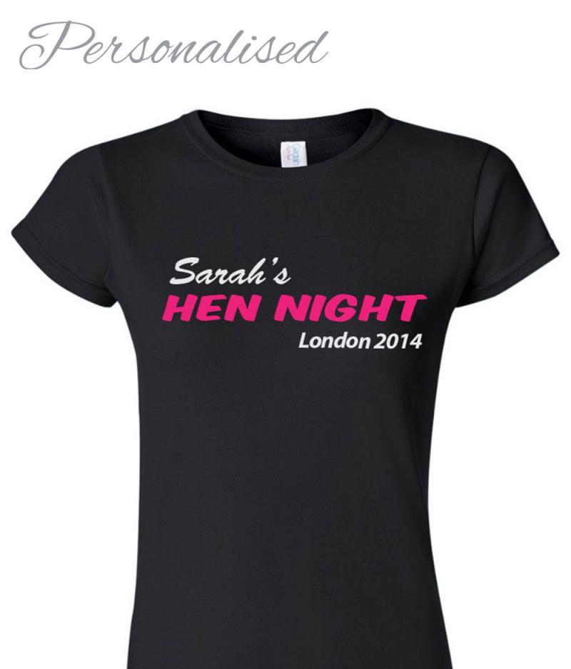 Personalised Hen Night T-shirt