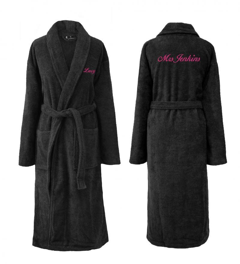 personalised bathrobes