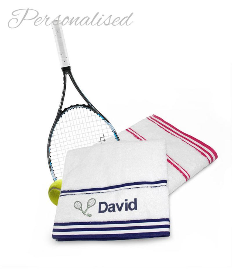 Personalised Tennis Towels
