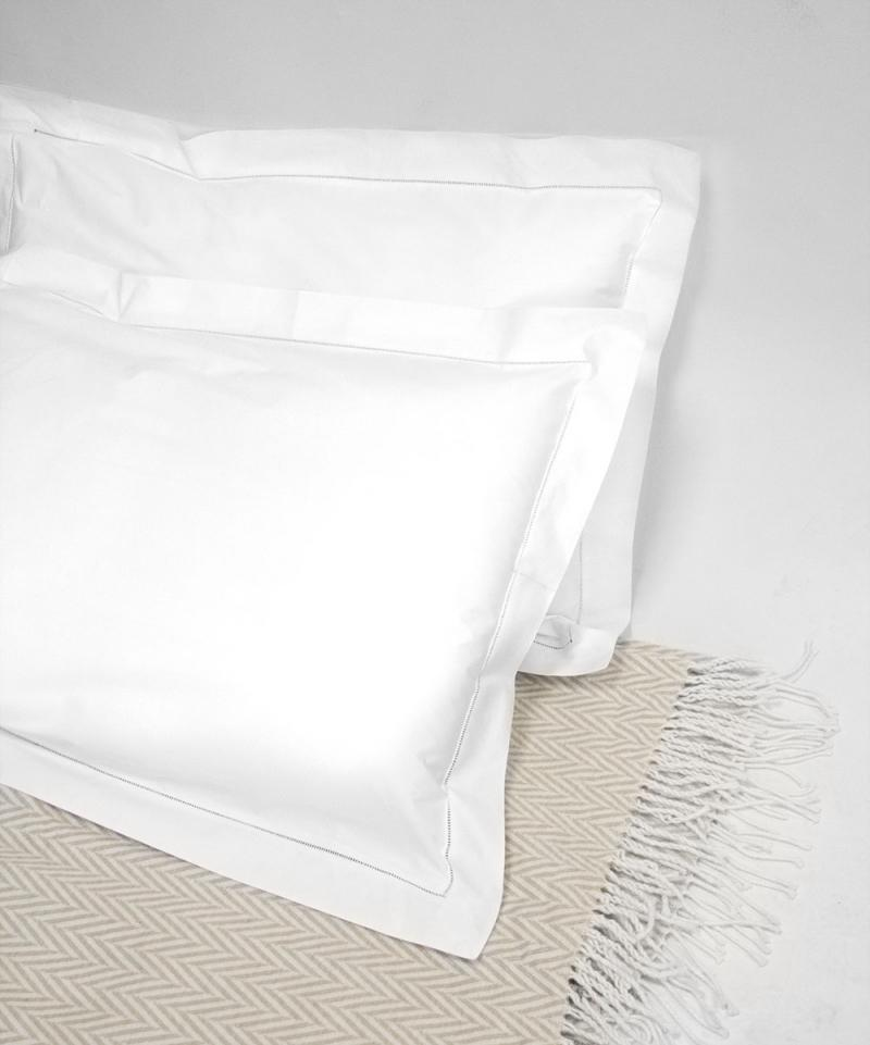 hemstitch pillow cases