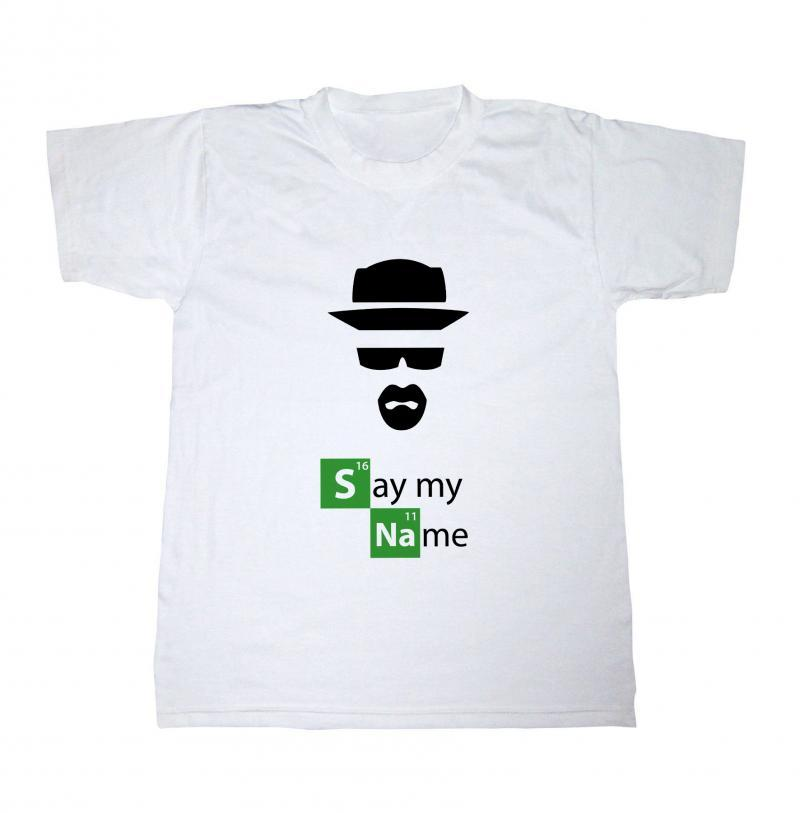 Breaking Bad T-shirt, Say My Name