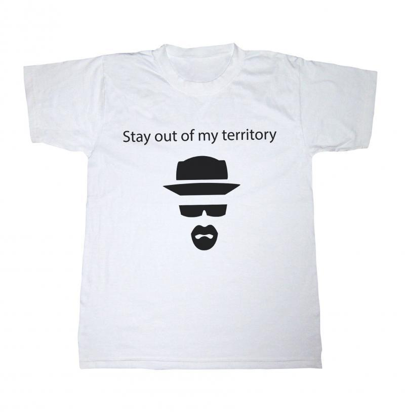 Breaking Bad T-shirt, Stay out of my territory