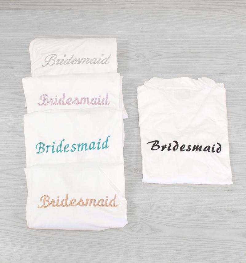 bridesmaid dressing gowns sale