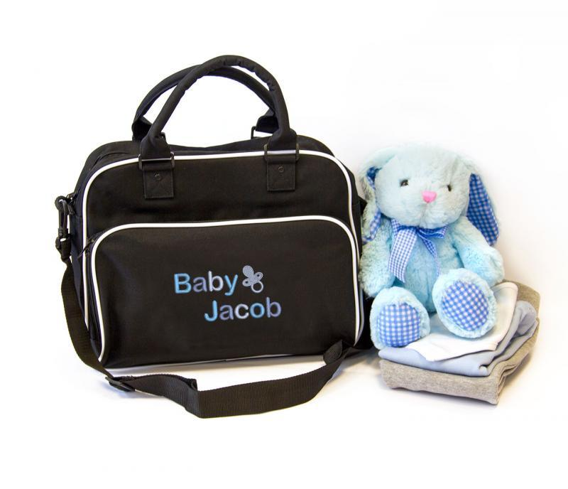 personalised baby nappy changing bag