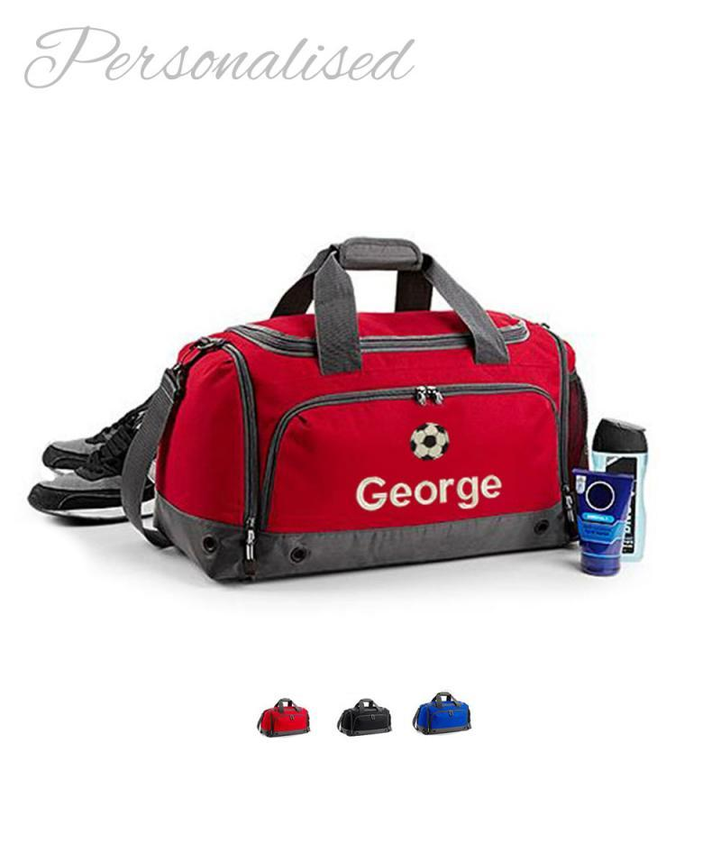 Personalised  Footbal Holldal Bag