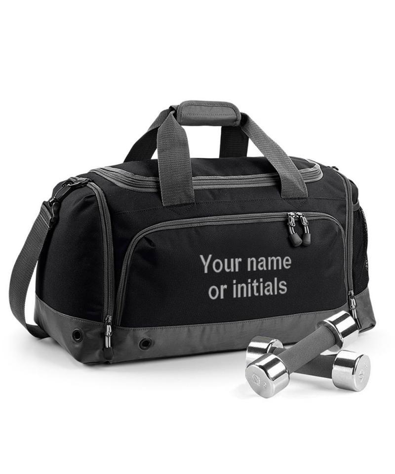 personalised gym bags