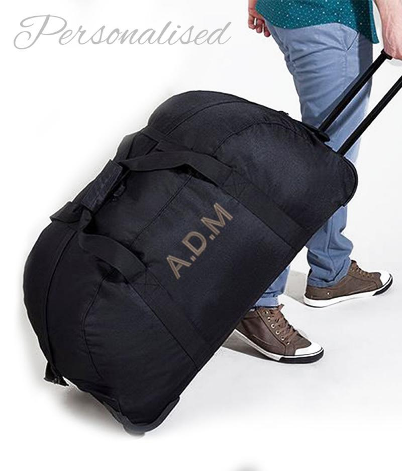 Personalised Embroidered Suitcase Luggage Bag