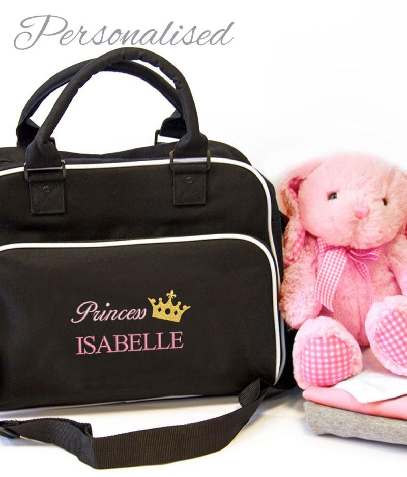 personalised princess bag