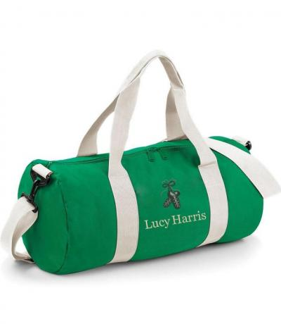 Green Irish dancing bag