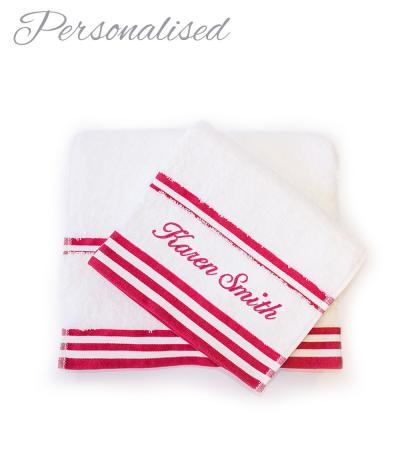 Personalised Bathroom Towels
