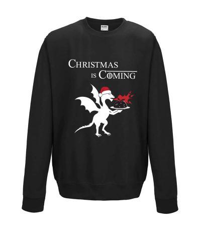 Christmas is Coming Sweatshirt, Game of Thrones Fan Gift Idea