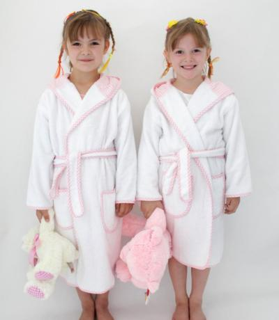 personalised girls dressing gowns