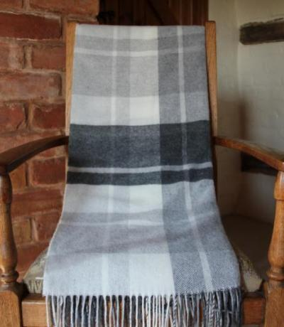 Personalised Cashmere Outdoor Blanket