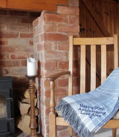 Anniversary Gift Cashmere Blanket