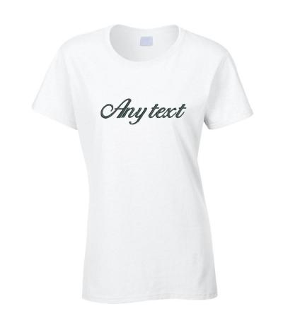 Personalised Wedding T-Shirt
