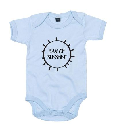 Ray of Sunshine Babygrow in Blue