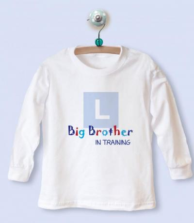 big brother in training shirt