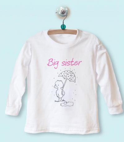 big sister t-shirt top