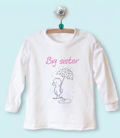 big sister t-shirt top