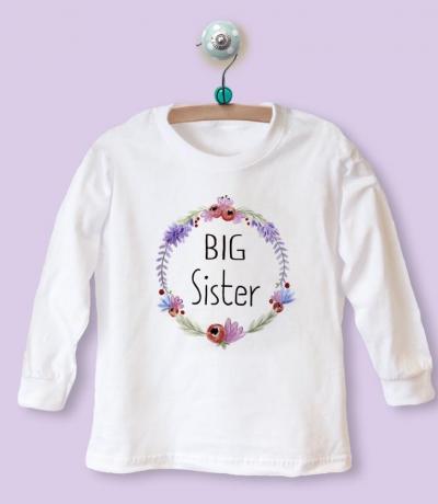 big sister floral top