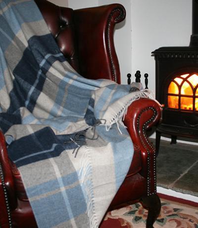 Fireside Cashmere Blanket