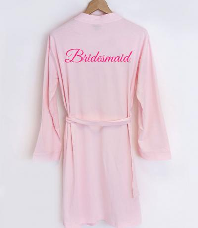bridesmaid dressing gowns uk