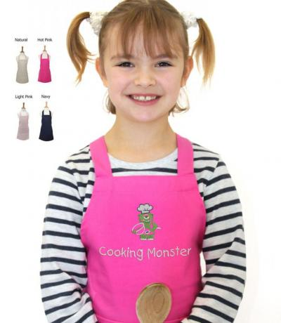 Cooking Monster Kid's Apron