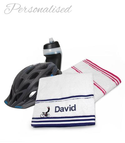 Personalised Cyclist Towels B