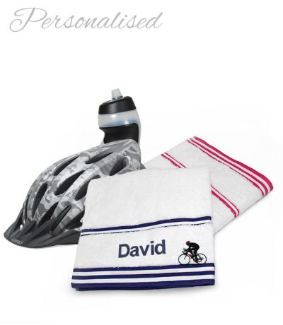 Personalised Cyclist Towels A