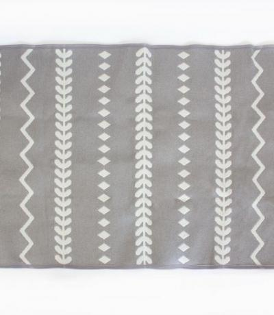 grey nursery rug