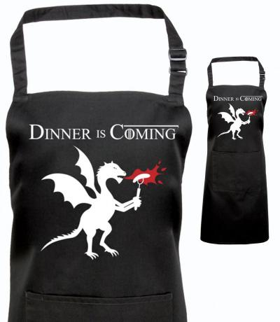 Dinner is coming, Game of Thrones Inspired Apron