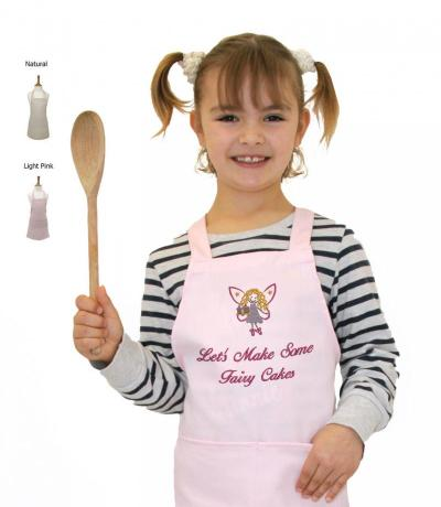 Children's Apron, Let's Make Some Fairy Cakes