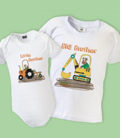 farm animals brothers outfits