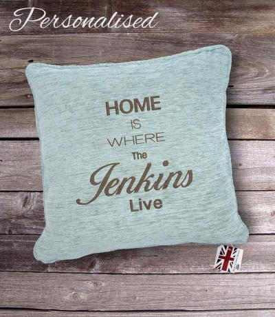 personalised cushions, housewarming gift