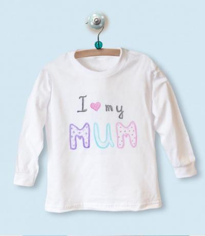 i love you mummy baby clothing