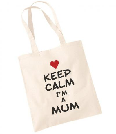 Keep Calm I'm a Mum Tote Bag