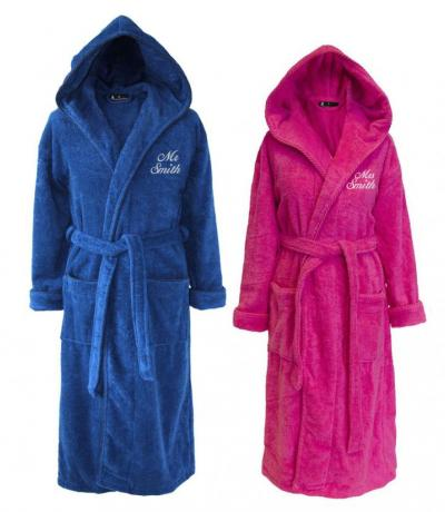 his and hers bathrobes