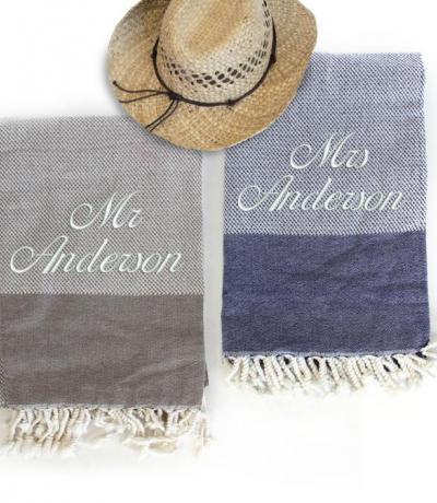 honeymoon towels