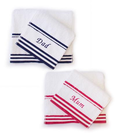 Mum and Dad Towelling Set