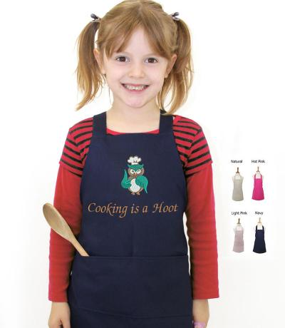 Kid's Apron, Cooking is a Hoot