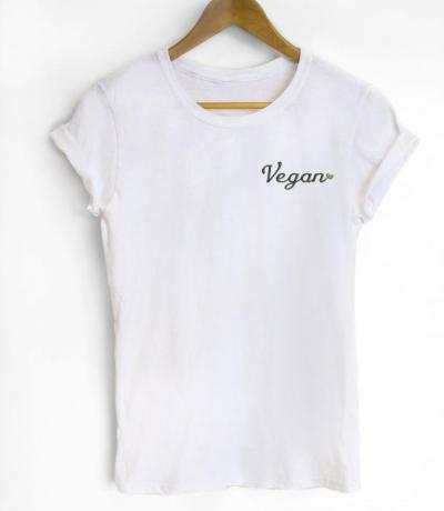 vegan organic t-shirt