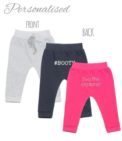 personalised baby pants