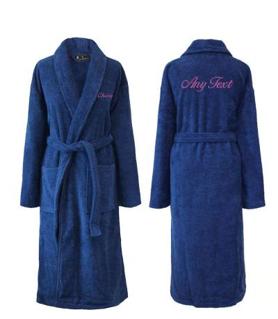 towelling dressing gowns with names