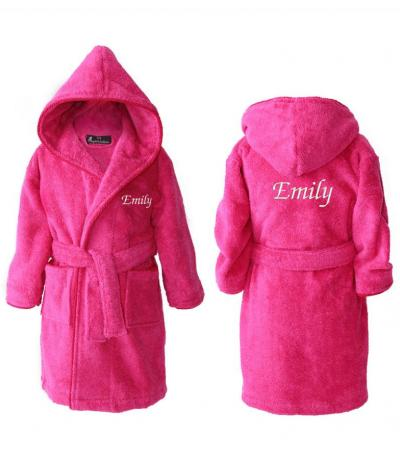 personalised kids dressing gowns